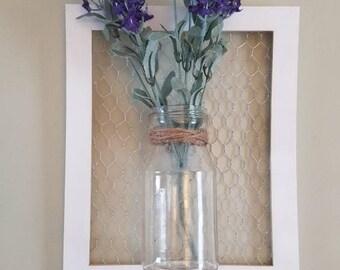 Decorative floral wall decor