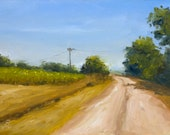 """Country Road, 6"""" x 8..."""