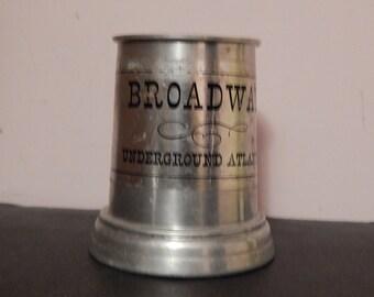 Vintage Underground Atlanta Mug - Broadway - Circa 1976