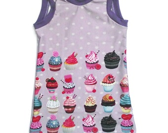 Tunic scalable 1-3 cup cake / was /fille