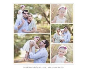 Blog Consejo y plantilla de Collage 20 x 20 para fotógrafos