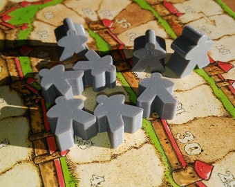 Meeples for board Games-board game Meeples (P.E. Carcassonne)
