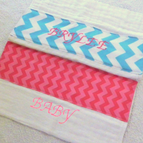 Embroidered Name or Initials - only for blanket
