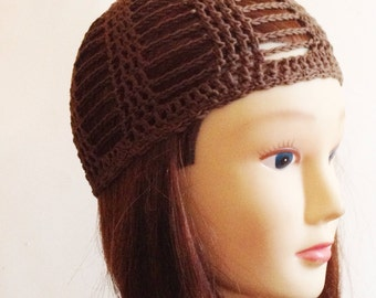 Cleo Skullcap in brown -child - 3-10 years