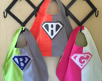 Baby - 3/Color SuperHero Capes
