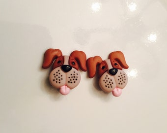 Earrings Mix and Match Collection Matching Set Beagle Dangle or Post Earring Style