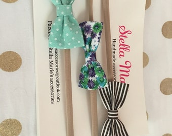 2 inch fabric bow