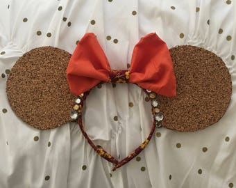 Oversized Fall Fabric Pin Ears