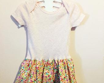 Pink Onesie Dress