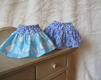 Spring skirts for Wellie Wisher dolls or Hearts for Hearts dolls