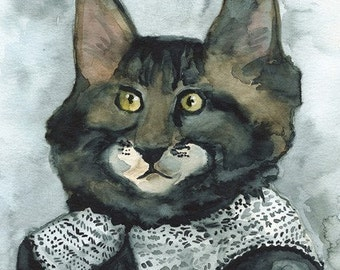 Class Pictures Day - cat art