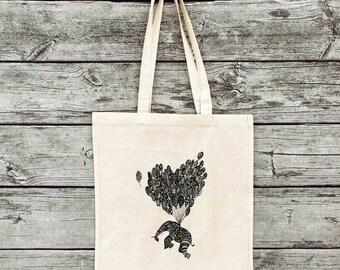 Bag elephant, jute bag