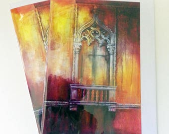 Venetian Dreams A5 greetings card from an original painting by D Y Hide, also available as a print and fridge magnet