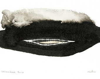 Within - Giclee print of ink and marker painting