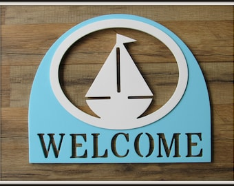 House Signs * Welcome Signs * Outdoor * Painted * Choose your color and select the insert design that best reflects your interests!
