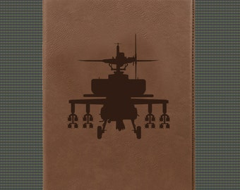 Leatherette Portfolio - Helicopter Designs