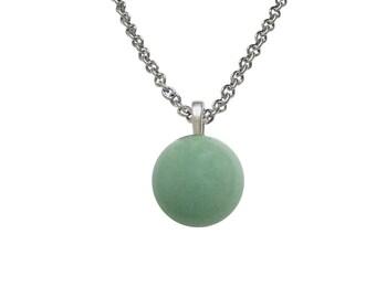Green Aventurine Gemstone Necklace