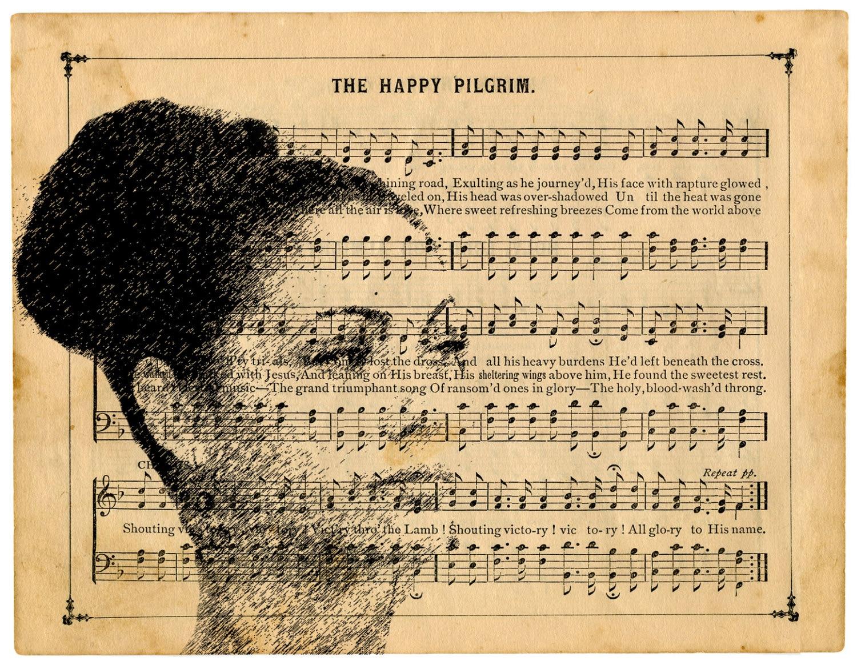 Custom Art DIGITAL FILE Printable YOUR Photo Vintage Music