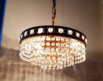 Preico Chandelier Pendant Lamp 60ies