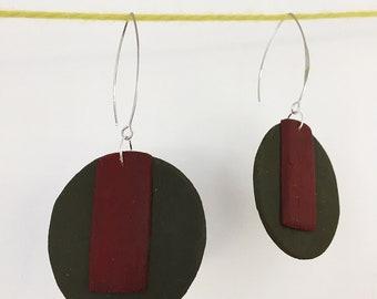 Hand Made Earrings.