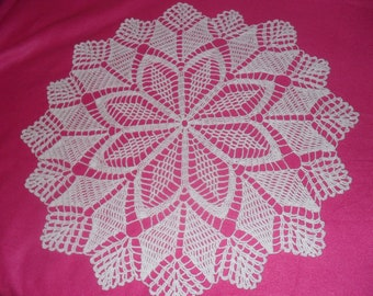KNITTED DOILY CROCHET