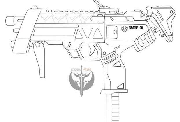 Sombras machine pistol blueprints overwatch de dysaniaprops en esto es un archivo digital malvernweather Image collections