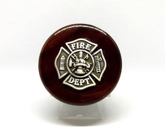 Fireman's Cross Wine Stopper – Metallic