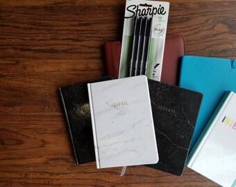Custom to You // Themed Bullet Journal // Themed Planner // Pre-Made Bullet Journal // Custom Bullet Journal // Full Set Up Bullet Journal