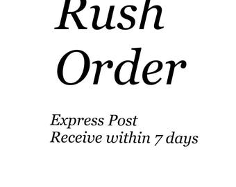 RUSH  ORDER  Express - for Cupcake Toppers