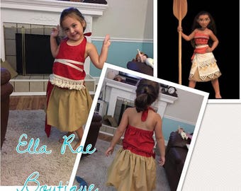 island princess two piece outfit