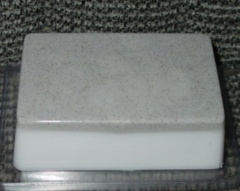 Foot Soap - Peppermint Essential Oil - Powdered Pumice - Scrubbing Soap - Moisturizing Base - Detergent Free Soap - Bar Soap