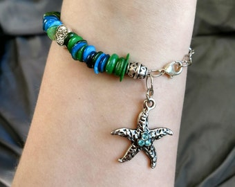 Shell Starfish Bracelet