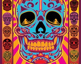 Grateful Dead 50th Poster 1966-2016