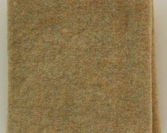 Tapioca: A  Fat Quarter Yard, Felted Wool Fabric for Rug Hooking, Wool Applique & Crafts