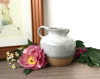 Pot Belly Ceramic Jug