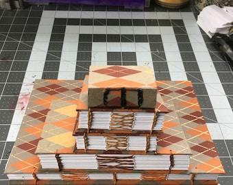 Red Argyle Book