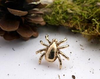 Tick Lapel Pin - Biology Jewelry - Arachnid Lapel Pin - 3D printed jewelry - Science pin - Scientist Jewelry - PhD Gift