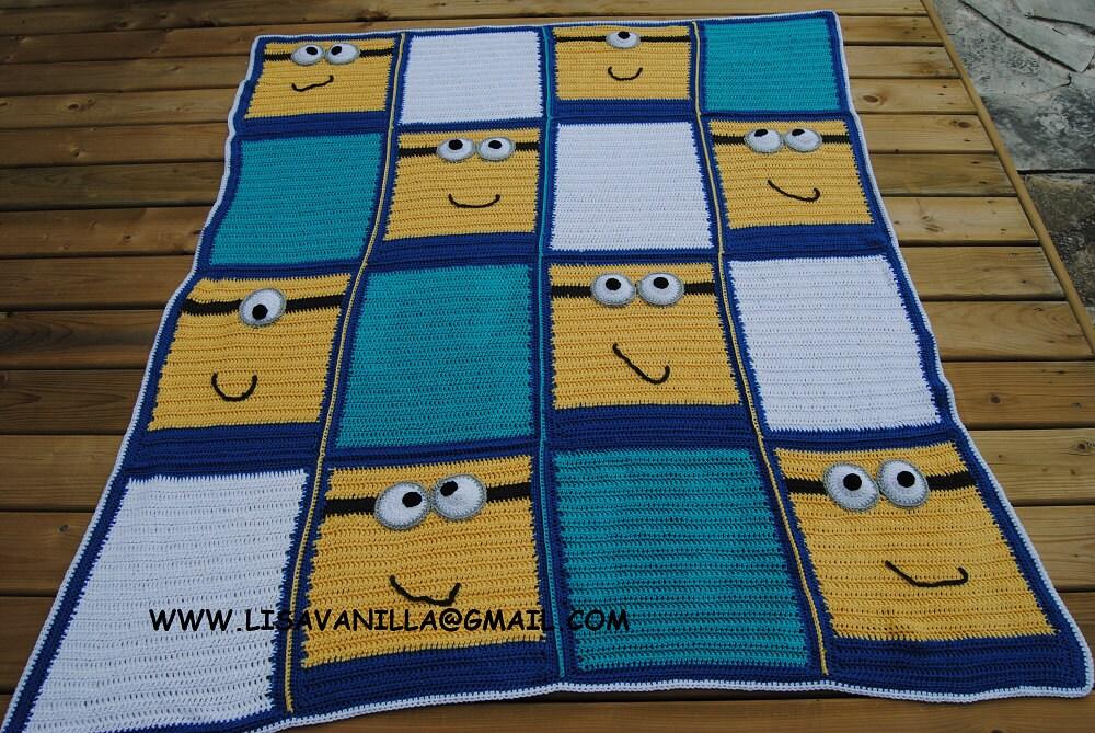 Minion Blanket Pattern crochet pattern