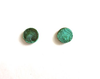 Patina Stud Earrings