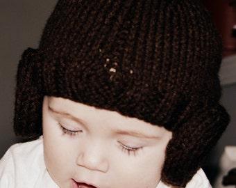 Princess Leia Hat,  Princess Leia  Wig, Star Wars Hat, Halloween, All Sizes