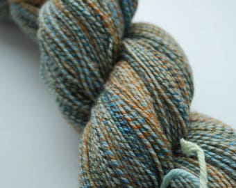 Handspun Three-ply Superwash Merino Sock Yarn