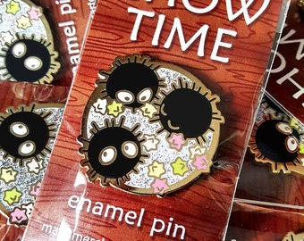 Soot Sprite Pin - Spirited Away Hard Enamel Pin