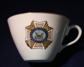 Ladies Auxiliary VFW Tea Cup