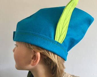 Elf, pixie, Peter Pan hat costume - party hat - World Book Day costume