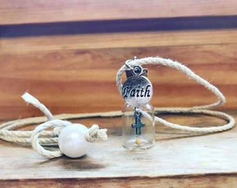 Mini bottle necklace