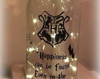 Harry Potter theme Night light/ Fairy Light / Nightlight //Gift Ideas/ Wedding gift Disney Inspired/Nightmare before Christmas
