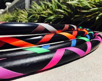 Hula Hoop SALE! *Best Selling* ECONOMY Travel Hoop - Beginner Criss Cross Hula Hoop - Choose Your Colors and Size!