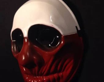 GAME PAYDAY 2 The Heist WOLF Mask Halloween Costume Party Horror Prop