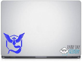Mystic Decal - Team decal - nostalgic decal - gamer - nerdy - geeky - car window decal - car decal sticker - laptop sticker - laptop decal