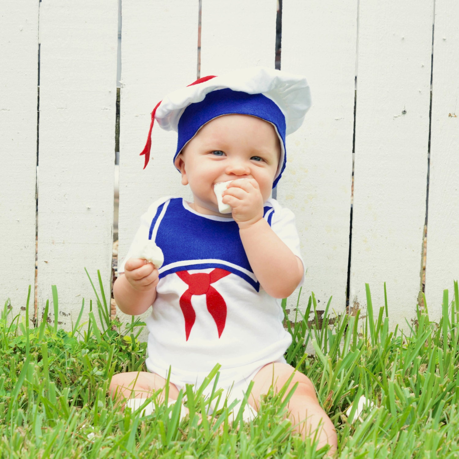 Fourth July 4Th Stay Puft Baby Costume Toddler